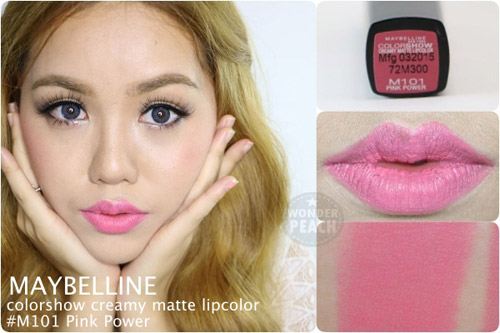 danh gia maybelline color show creamy matte lipcolor - 4