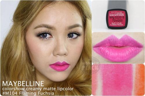 danh gia maybelline color show creamy matte lipcolor - 6
