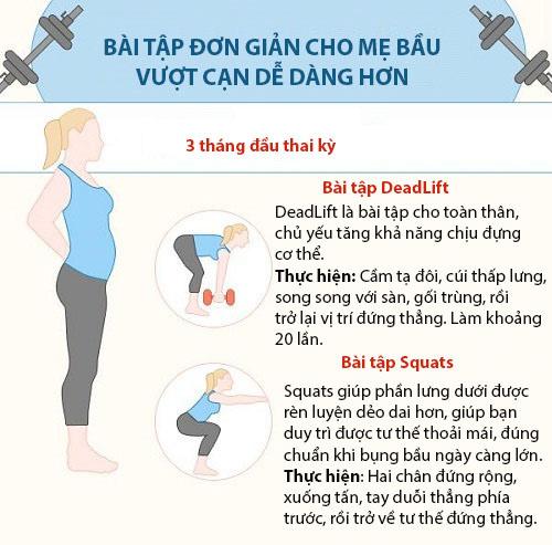 bai tap don gian cho me bau de sinh thuong - 1