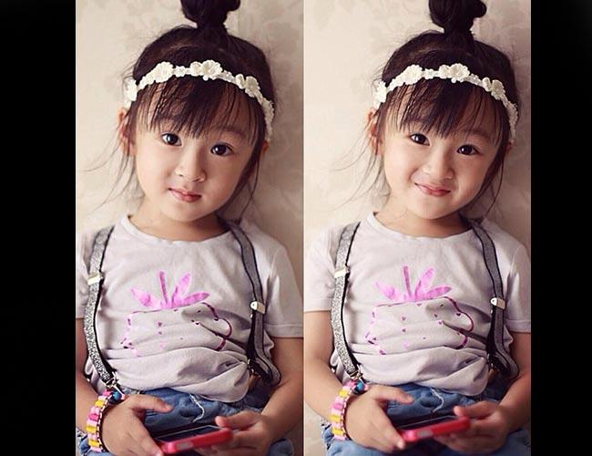 Cô bé 4 tuổi có thể nói thông thạo hai thứ tiếng Anh – Việt.