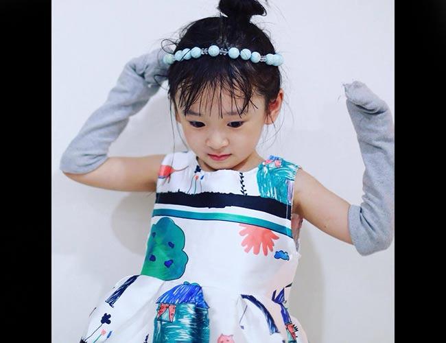 Trang facebook và instagram của Thiên Ân mới được mẹ bé lập cho con gái nhưng đã nhanh chóng thu hút nhiều người theo dõi.