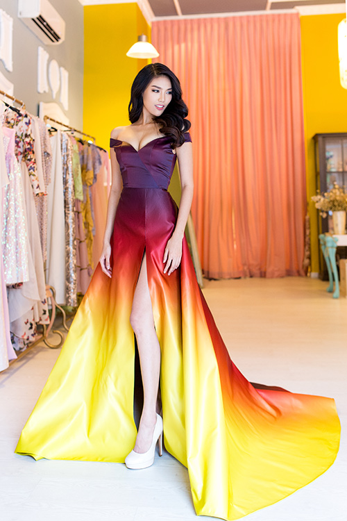 """lan khue se """"bung chay"""" o miss world - 4"""