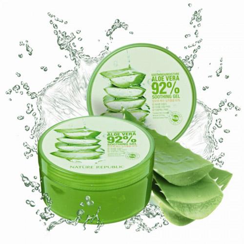 danh gia hu gel lo hoi nature republic soothing moisture aloe 92% soothing gel - 7