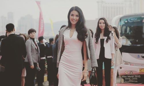 ngam nhan sac cua lan khue tai miss world 2015 - 2