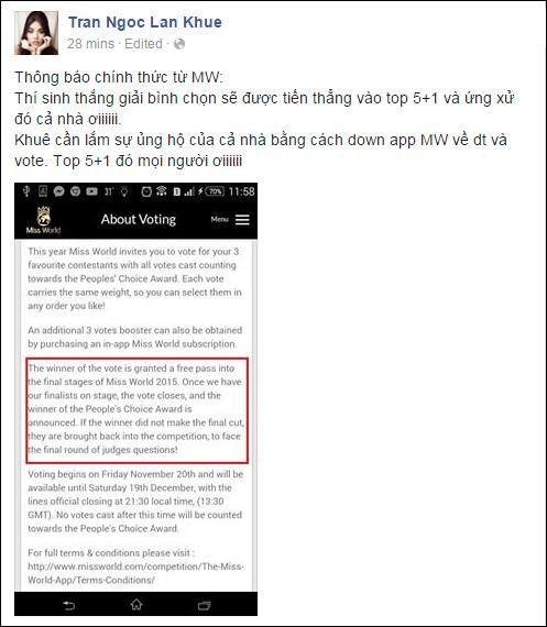 "lan khue ""khoc can nuoc mat"" sau dem chung ket hhtg - 2"