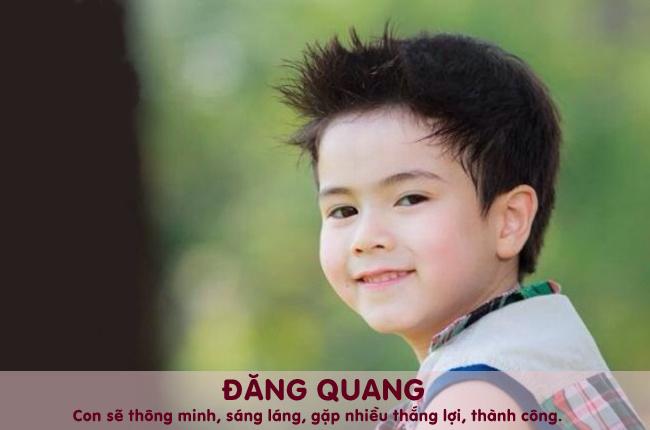 Đăng Quang tiếng Hán Việt có nghĩa là sự lên ngôi của nhà vua.