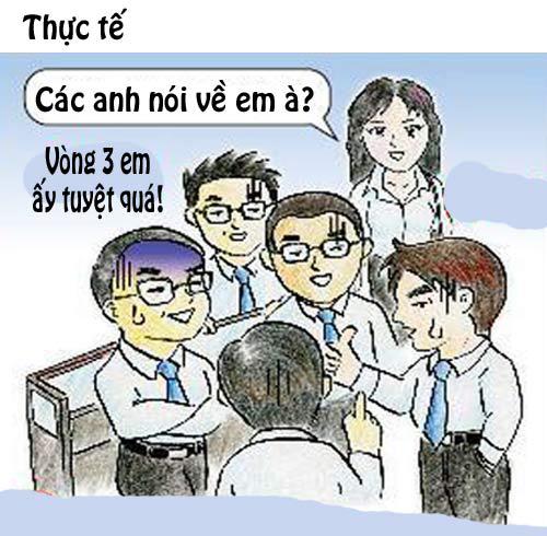 chet cuoi voi nhung lam tuong ve dan van phong - 4