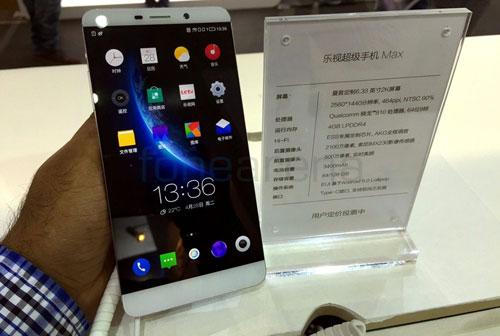 smartphone le max man hinh 6,3 inch va 4 gb ram sap ra mat - 1