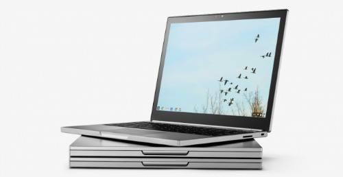 """google sap """"trinh lang"""" laptop 2 trong 1 sieu mong - 1"""
