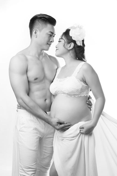 Bộ ảnh bế bụng bầu làm xiếc tuyệt đẹp của vợ chồng 'hoàng tử xiếc Việt'-6
