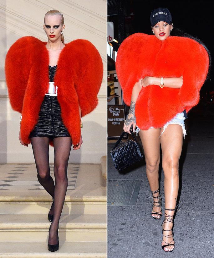 Đến các nhà thiết kế cũng phải ngả mũ trước cách phối đồ của Rihanna - 1