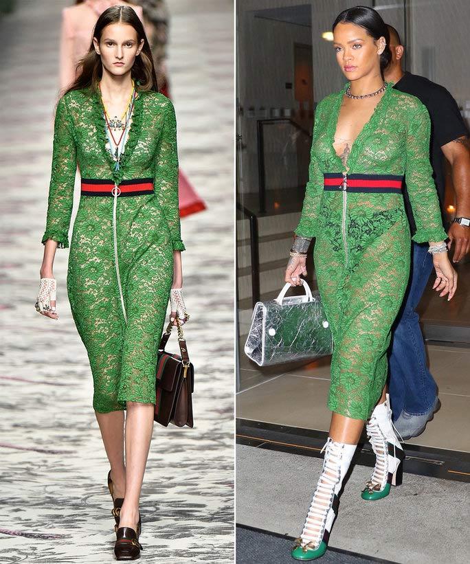 Đến các nhà thiết kế cũng phải ngả mũ trước cách phối đồ của Rihanna - 2