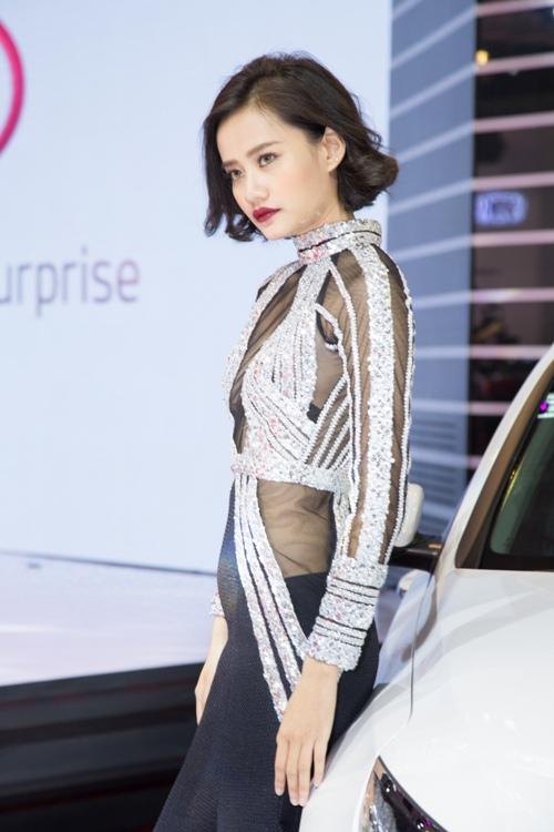 Dù sốt cao, Quỳnh Châu vẫn tự tin đọ vẻ gợi cảm cạnh Kim Chi-5