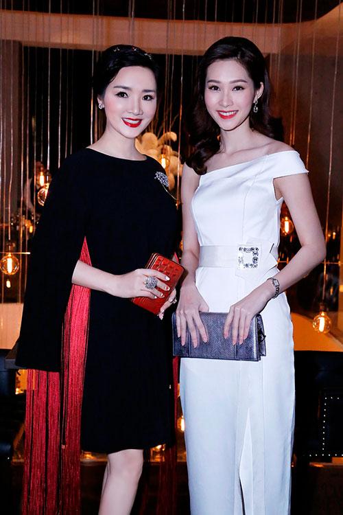 Hoa hậu Giáng My đẹp kiêu sa đọ sắc cùng Đặng Thu Thảo-3