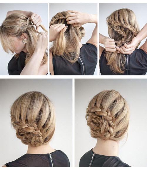Là con gái nhất định phải một lần thử những kiểu tết tóc này - 1