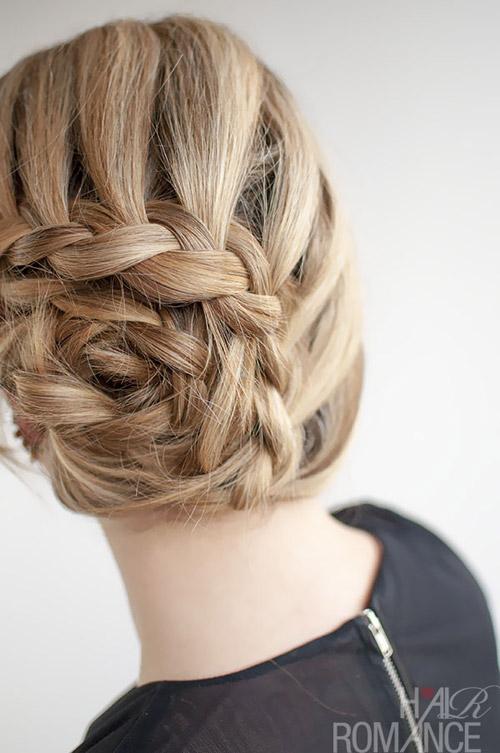 Là con gái nhất định phải một lần thử những kiểu tết tóc này - 2