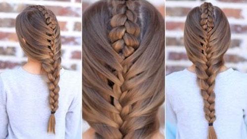Là con gái nhất định phải một lần thử những kiểu tết tóc này - 6