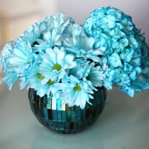 Bí quyết nhuộm màu cho hoa cúc trắng cực nhanh - 10