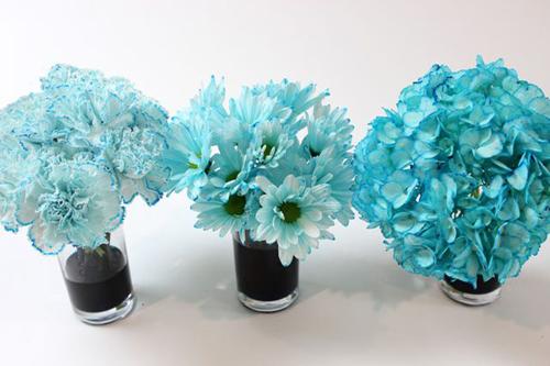 Bí quyết nhuộm màu cho hoa cúc trắng cực nhanh - 8
