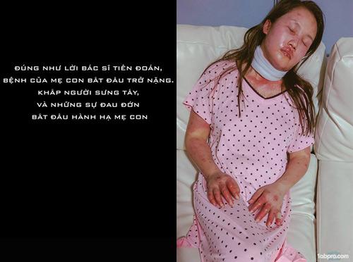 Chấp nhận căn bệnh có thể tàn phá nội tạng, mẹ Việt vẫn quyết sinh con - 7