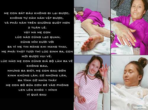 Chấp nhận căn bệnh có thể tàn phá nội tạng, mẹ Việt vẫn quyết sinh con - 9