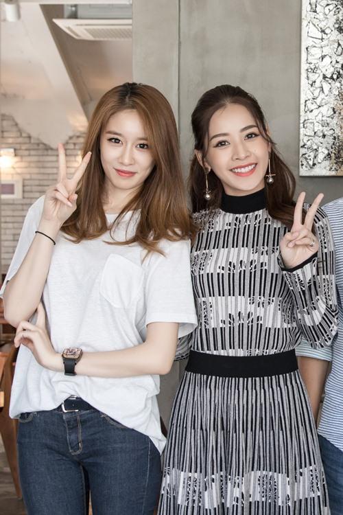 Ji-yeon (T-ara) ôm ấp Chi Pu và muốn đóng phim tại Việt Nam-11