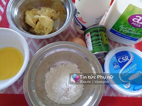banh crepe tra xanh sau rieng chuan vi - 1