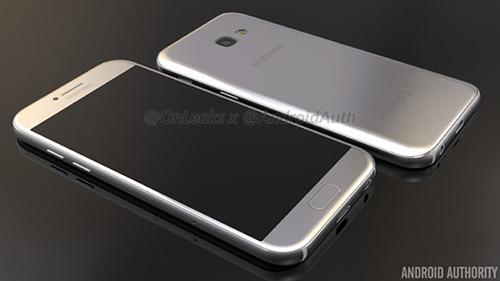 Smartphone Galaxy A5 phiên bản 2017 lộ ảnh chính thức-2