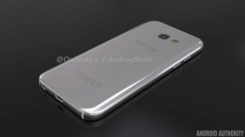 Smartphone Galaxy A5 phiên bản 2017 lộ ảnh chính thức-3