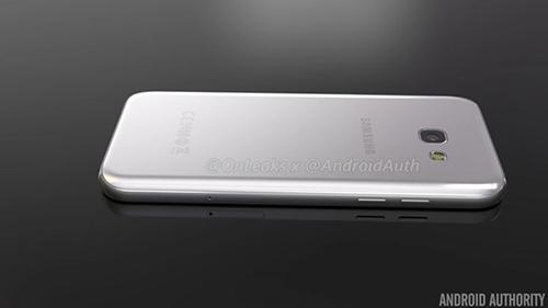 Smartphone Galaxy A5 phiên bản 2017 lộ ảnh chính thức-4