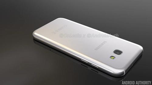 Smartphone Galaxy A5 phiên bản 2017 lộ ảnh chính thức-8