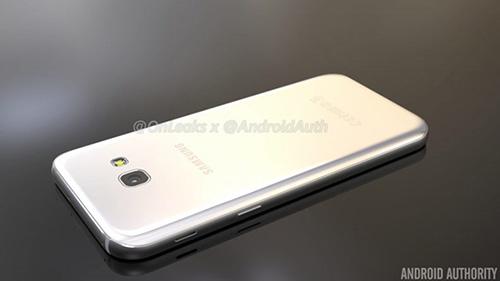 Smartphone Galaxy A5 phiên bản 2017 lộ ảnh chính thức-5