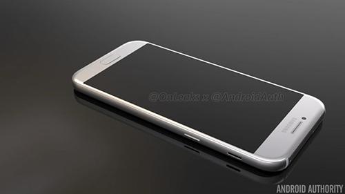 Smartphone Galaxy A5 phiên bản 2017 lộ ảnh chính thức-12