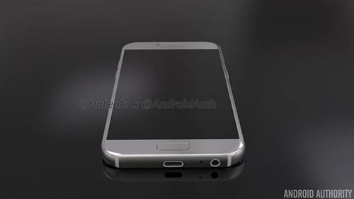 Smartphone Galaxy A5 phiên bản 2017 lộ ảnh chính thức-1