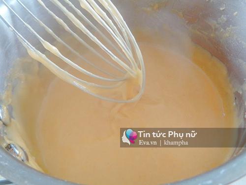 Biến tấu với bánh tiêu nhân custard tuyệt ngon-2