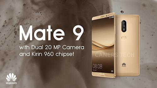 Huawei Mate 9 bản cao cấp có RAM 6GB, bộ nhớ 256GB-1