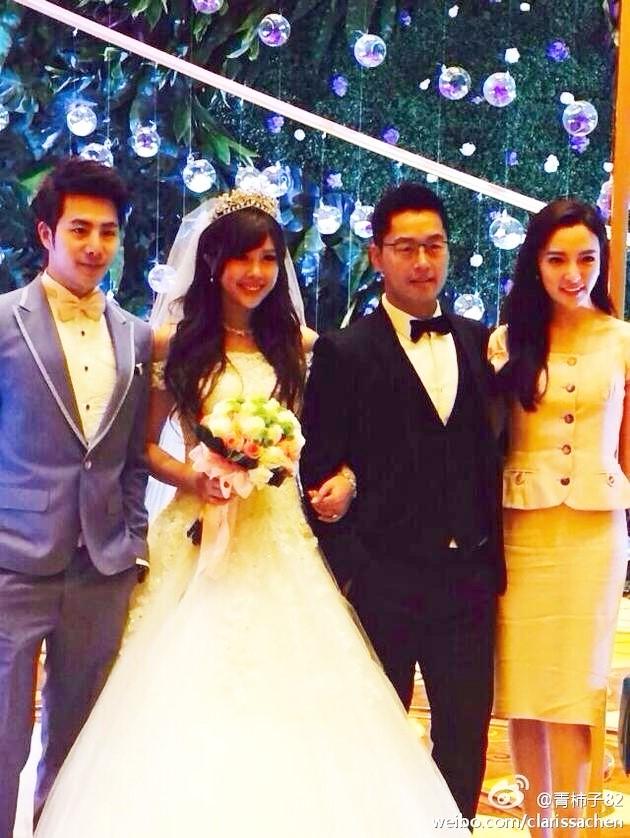Lộ ảnh cưới của chồng mới Trương Vũ Kỳ và người vợ trước-3