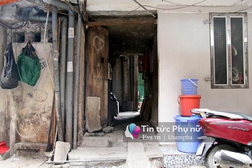 Nhà 4m2, 5 người sinh sống giữa lòng Hà Nội - 2