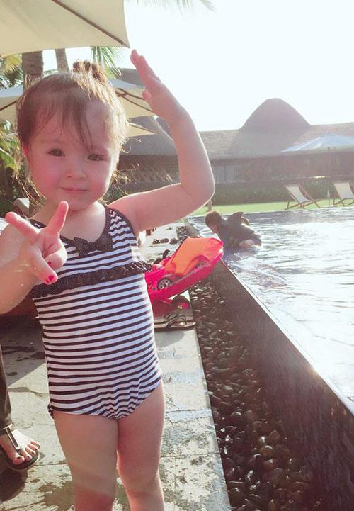 Lâu lắm Elly Trần mới khoe ảnh Cadie, nhiều người ngỡ ngàng vì cô bé đã quá lớn-5
