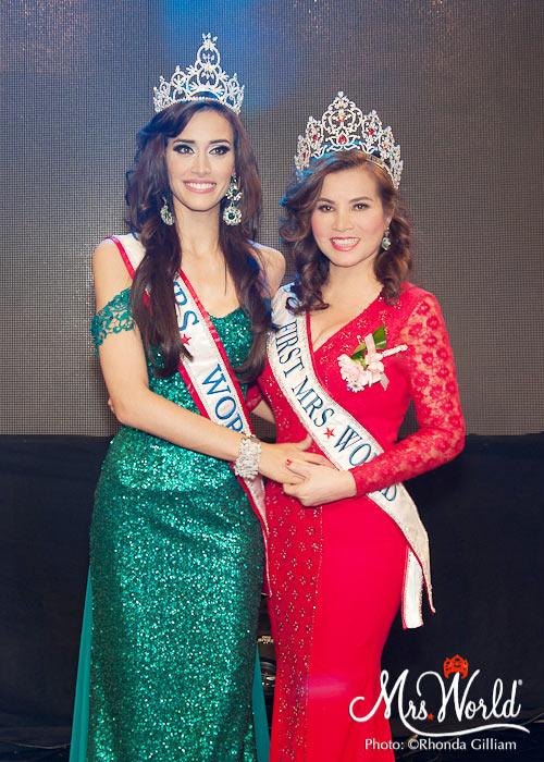 hoa hau kim hong tang non la va hoa sen cho tan mrs world 2016 - 7