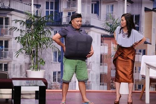 on gioi tap 1: hoai linh bai phuc nu nghe si ran day truong giang tren song truyen hinh - 15