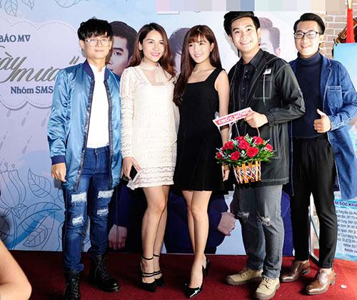 """""""cap doi tv show"""" quynh chau - quang hung tinh tu den chuc mung nhom nhac - 13"""