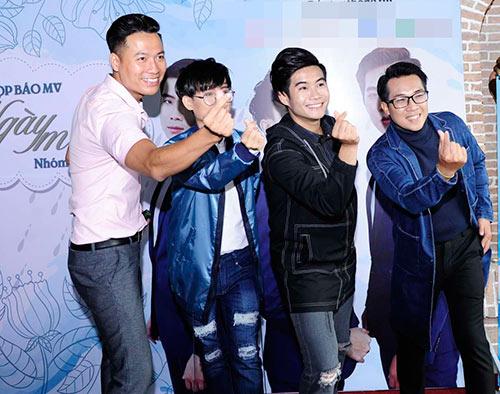 """""""cap doi tv show"""" quynh chau - quang hung tinh tu den chuc mung nhom nhac - 11"""