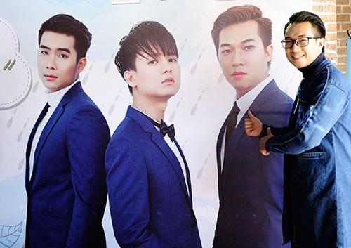 """""""cap doi tv show"""" quynh chau - quang hung tinh tu den chuc mung nhom nhac - 5"""