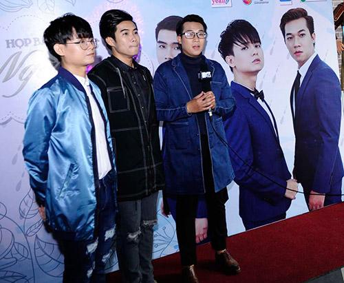 """""""cap doi tv show"""" quynh chau - quang hung tinh tu den chuc mung nhom nhac - 6"""