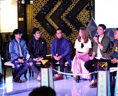 """""""cap doi tv show"""" quynh chau - quang hung tinh tu den chuc mung nhom nhac - 7"""