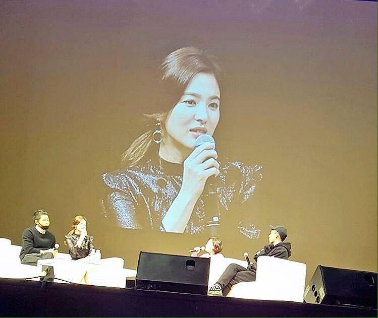 """song hye kyo: """"toi thuong uong soju voi joong ki, uong sam panh voi ah in"""" - 3"""