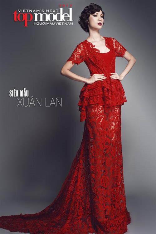 xuan lan va thi sinh cu to cao vietnam's next top model thieu minh bach - 1