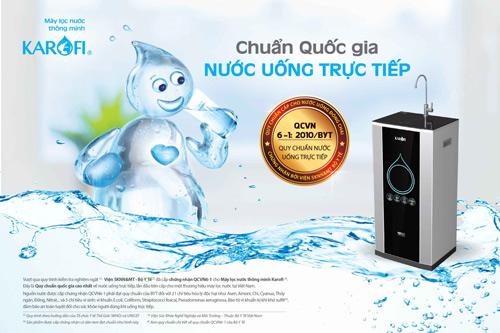 o viet nam da co may loc nuoc dat chuan uong truc tiep chua? - 1