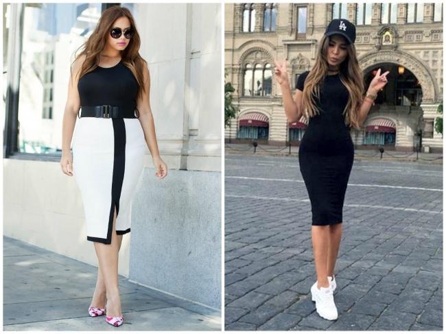 12 kiểu trang phục chị em cứ thoải mái mặc không lo gầy hay béo - 1